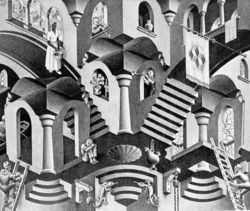 MC Escher Convex Concave